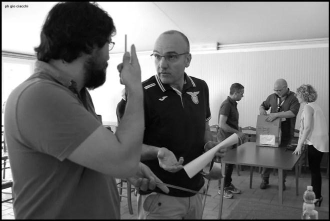 11.06.2016 Roma Confronti fra Maestri: Vincenzo Castrucci e Daniele Anile (foto G.Ciacchi)