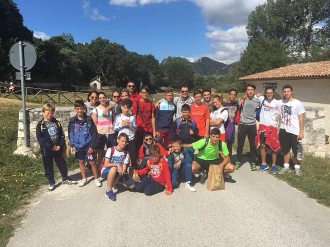 OPI -  agosto 2016 Lazio Scherma Fencing Camp