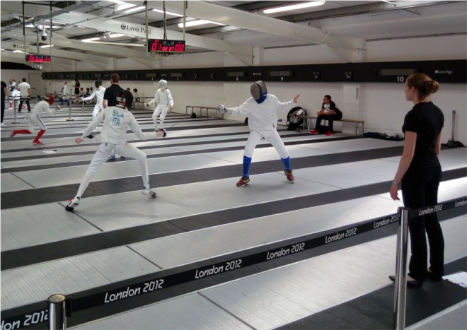 13 agosto 2016 - Londra International epee boys U15 competition  William David Sica (foto V. Sica)