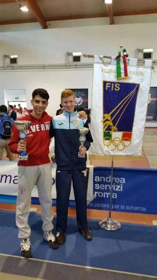 Campionato Regionale Lazio Categoria ragazzi spada