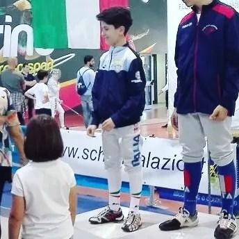 Campionato Regionale Lazio Categoria ragazzi sciabola