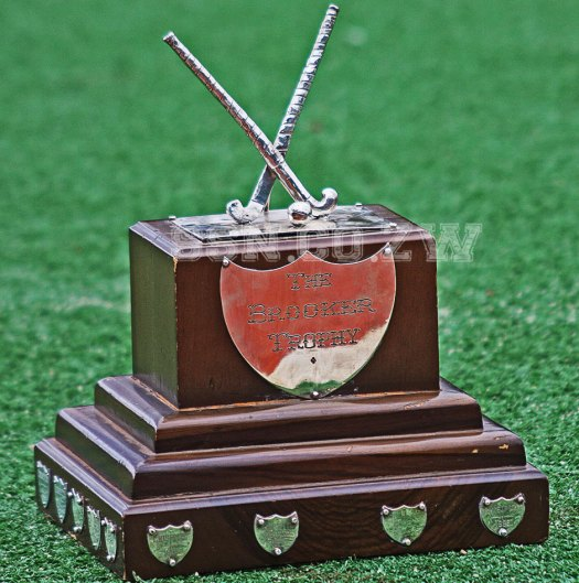 The Brooker Trophy on the turf