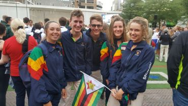 Zimbabwe's U23 Jr World Rowing Championships Team