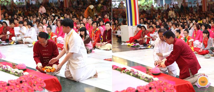 Chinese New Year in Prasanthi.