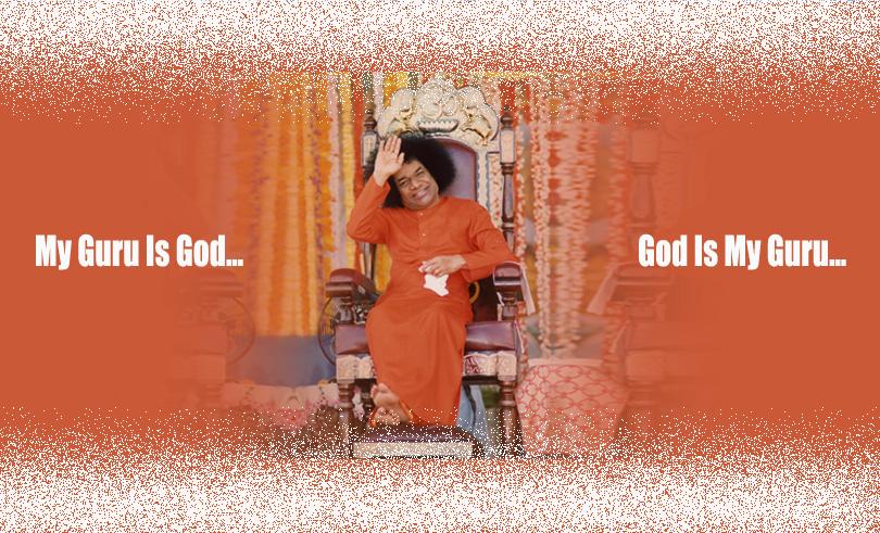 My Guru Is God…God Is My Guru…