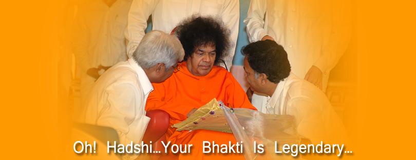 Oh! Hadshi…Your Bhakti Is Legendary…