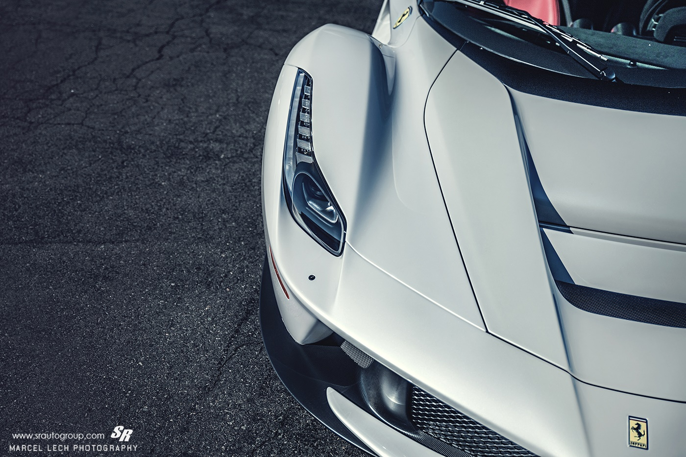 5 White Ferrari Laferrari Headlight Close Up Sssupersports