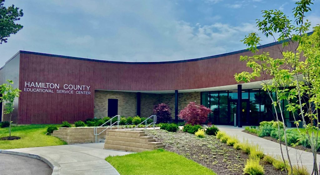 HCESC Building - Front Entrance