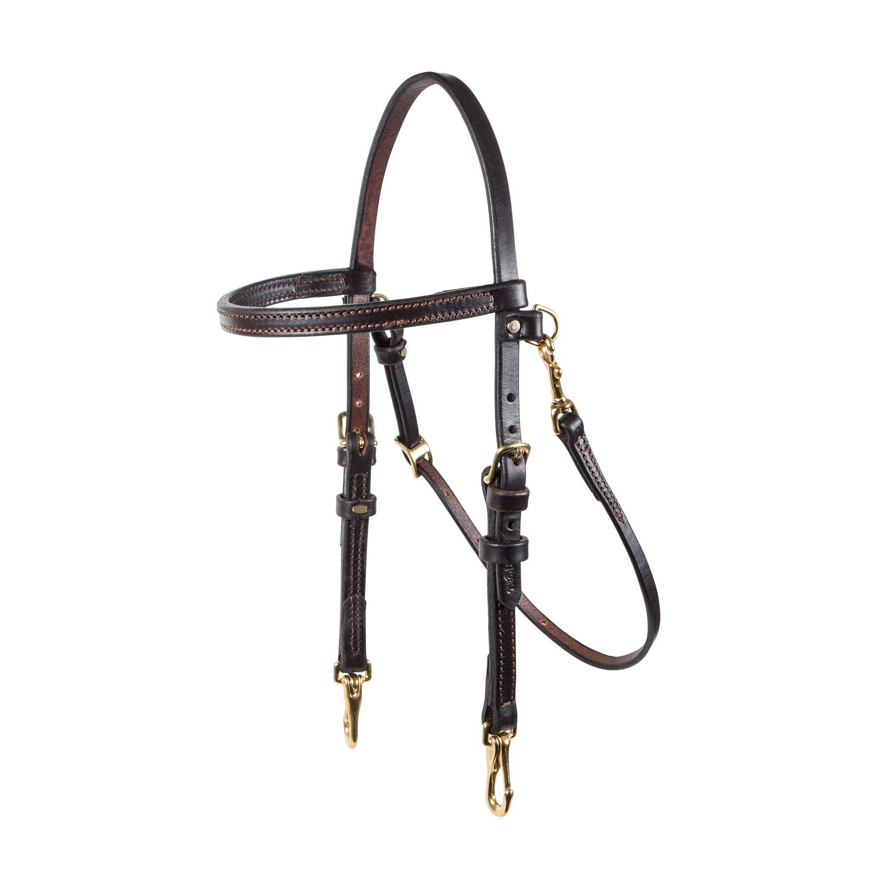 Victor Supreme Bob Hart Arabian Training Bridle In Western