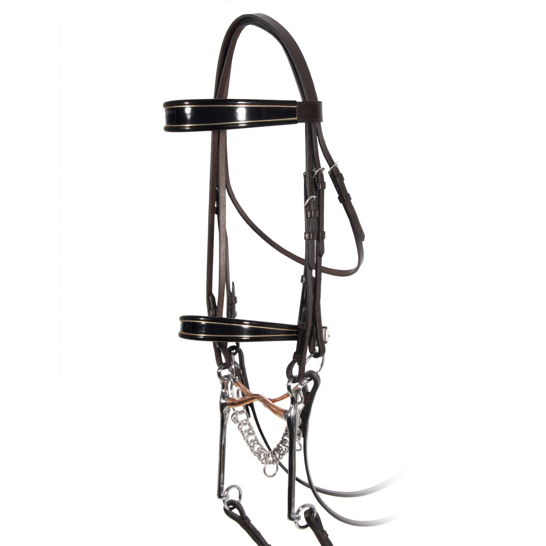 Premier Show Bridle In Saddle Seat Show Hack At