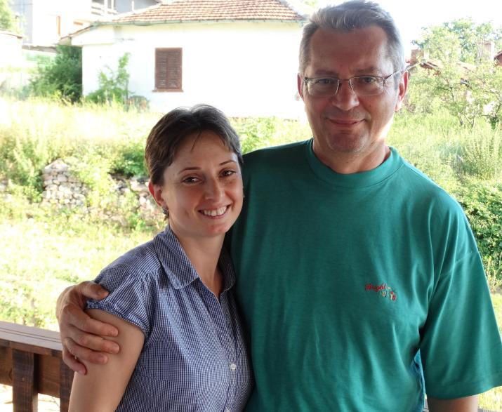 Михаил и Катя Марковски са собственици на къщата на Гераците