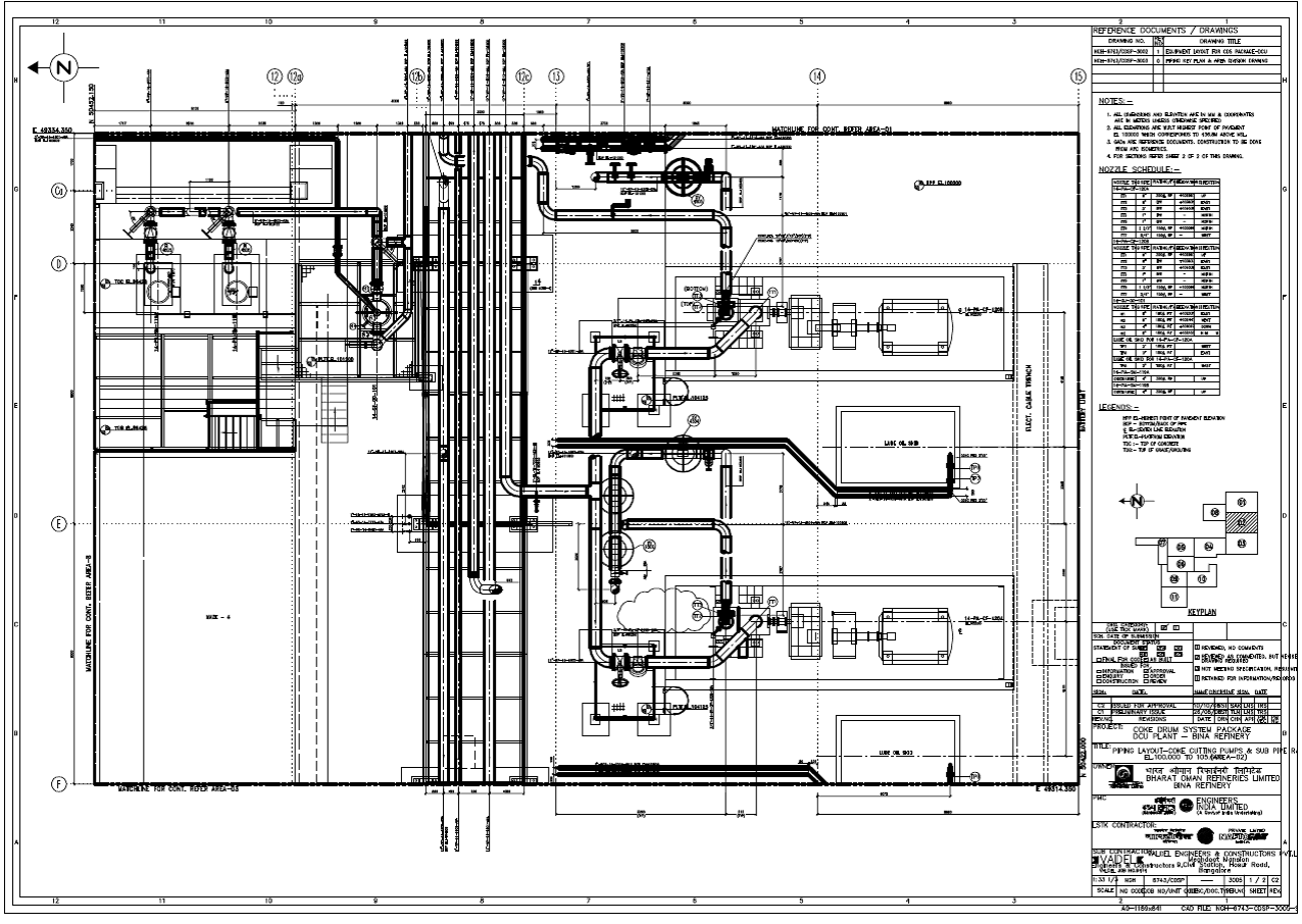 Wrg Piping Layout Plan