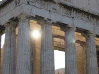 the Athenian Parthenon