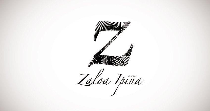 logotipo artista vasca Zaloa Ipiña