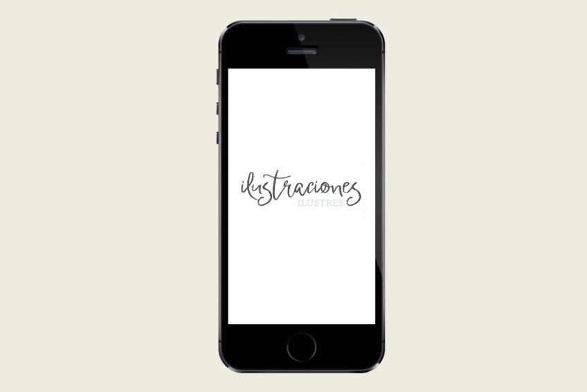 logotipo ilustracionesilustres portfolio