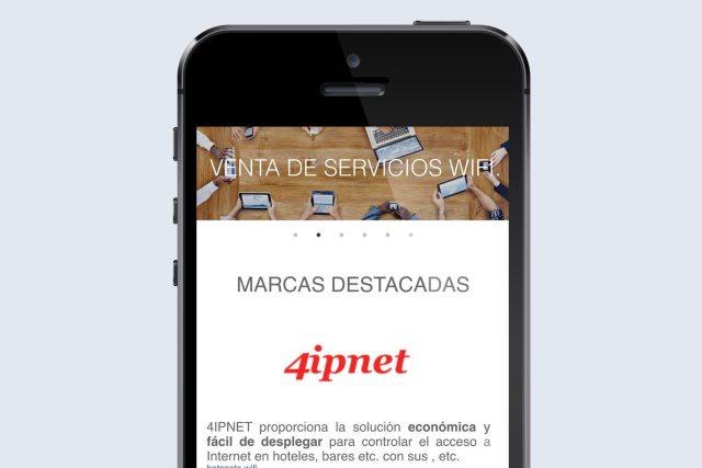 diseño web maquetacion wifisafe