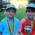 Gesamtsieger NK-Sachsenpokal Anni Bartl und Jakob Fischer