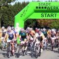 Start des 60 km-Rennens