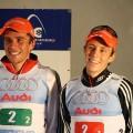 Platz 3 für Johannes und Eric im Teamsprint
