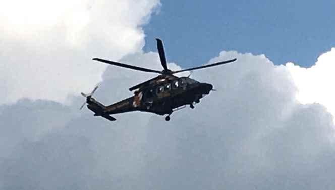 MSP Helo in Air