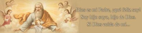 Dios es mi padre, que feliz soy!