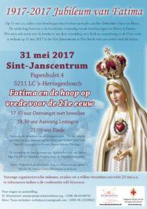 Jubileum van Fatima