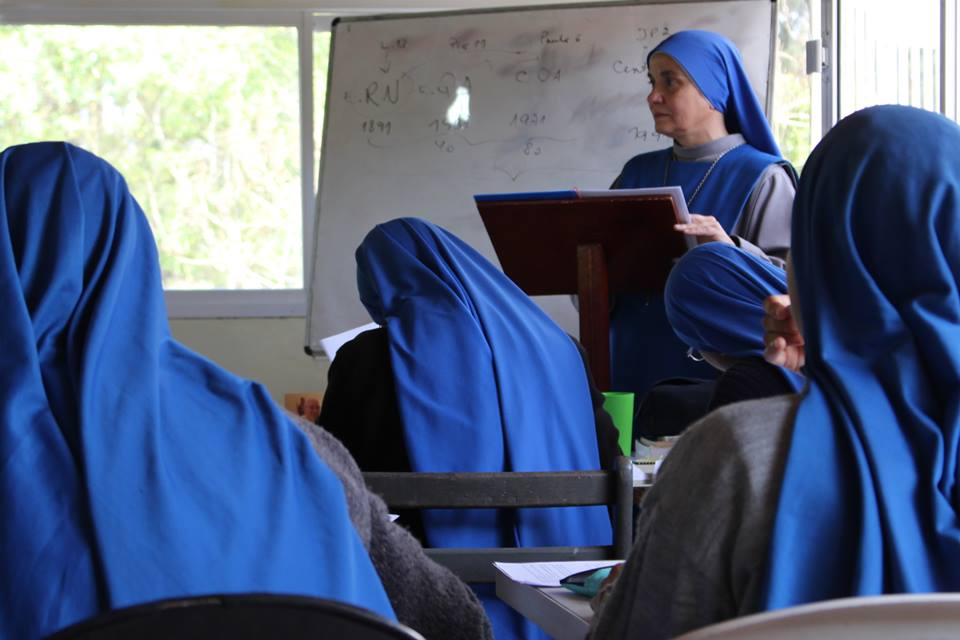 image of women studying who are the foundations of good works to come in SSVM Missions.