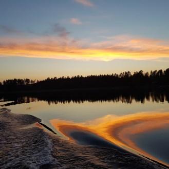 Ilta Saimaalla - Sunset on Saimaa