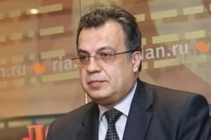عاجل..إطلاق النار على السفير الروسي في أنقرة وإصابته بجروح بالغة