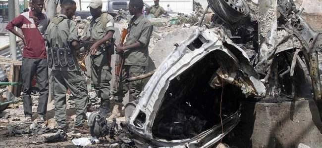 مقتل 11 في هجوم انتحاري استهدف ميناء مقديشو الدولي بعاصمة الصومال