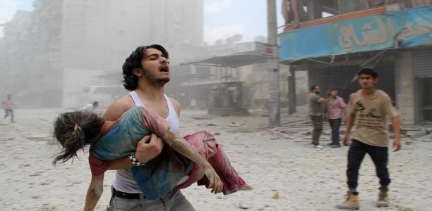 صفحات وشاشات الإعلام الغربي :أنقذوا حلب
