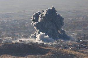 مقتل 15 مدنياً إثر سقوط قذائف صاروخية شرقي الموصل
