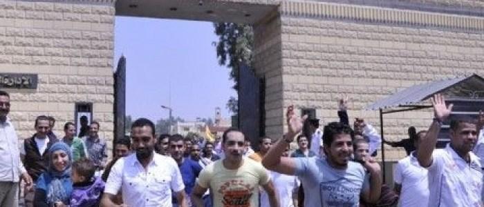 آمال الحرية ترفرف من جديد فوق السجون المصرية