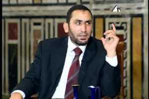 """فيديو.. الشيخ/ أحمد صبري: لا يجوز أن نشير """" الأخبار الشمال """" على الفيس بوك"""