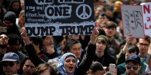 مظاهرات ضد ترامب