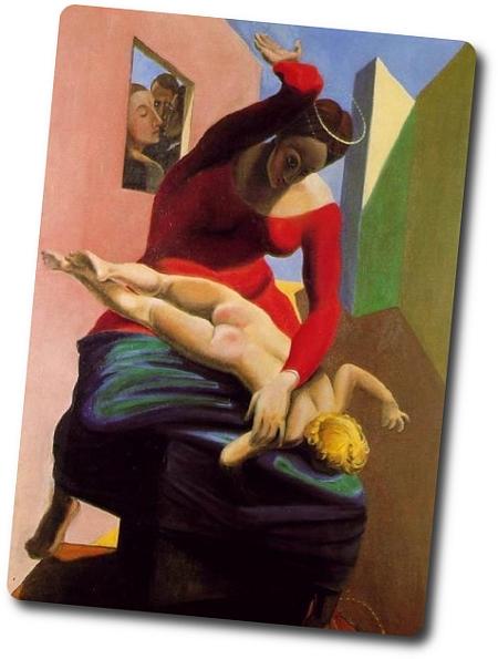 Afbeeldingsresultaat voor max ernst jungfrau züchtigt das jesuskind