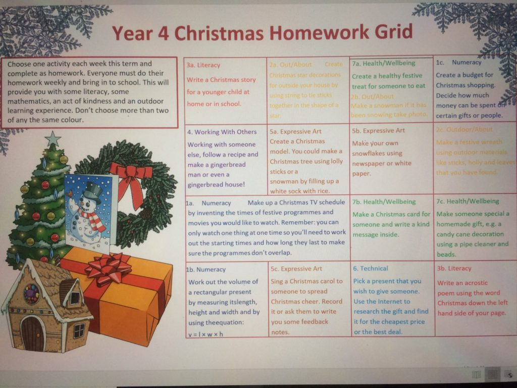 Literacy Homework Year 4 Newspapers