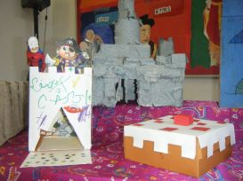 Whole school half term homework challenge! What can you do with a cardboard box?[38]