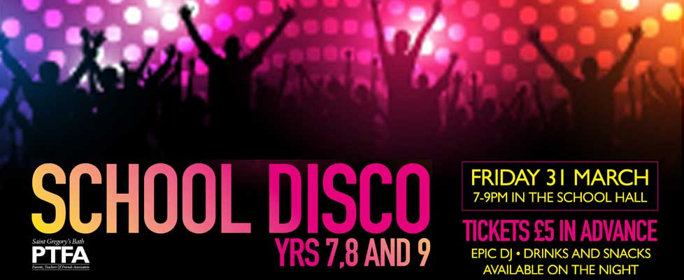 School Disco Friday 31 March