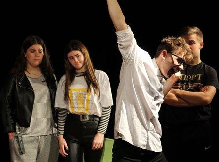 Sad Club in rehearsals