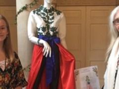Winning design at Fashion & Fairytale Exhibition