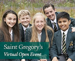 St Gregory's Bath Virtual Open Day Event