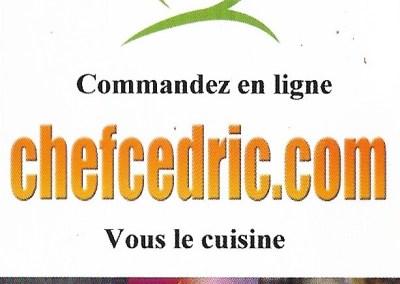 Chef Cedric