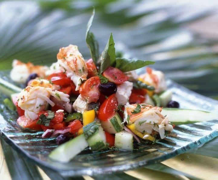 Fresh foods from st lucia, coal pot restauran