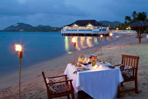 Luxury all inclusive resorts for couples set on the Caribbean's best beaches.