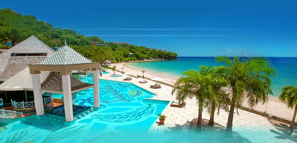 St Lucia Travels Sandals In St Lucia All Inclusive
