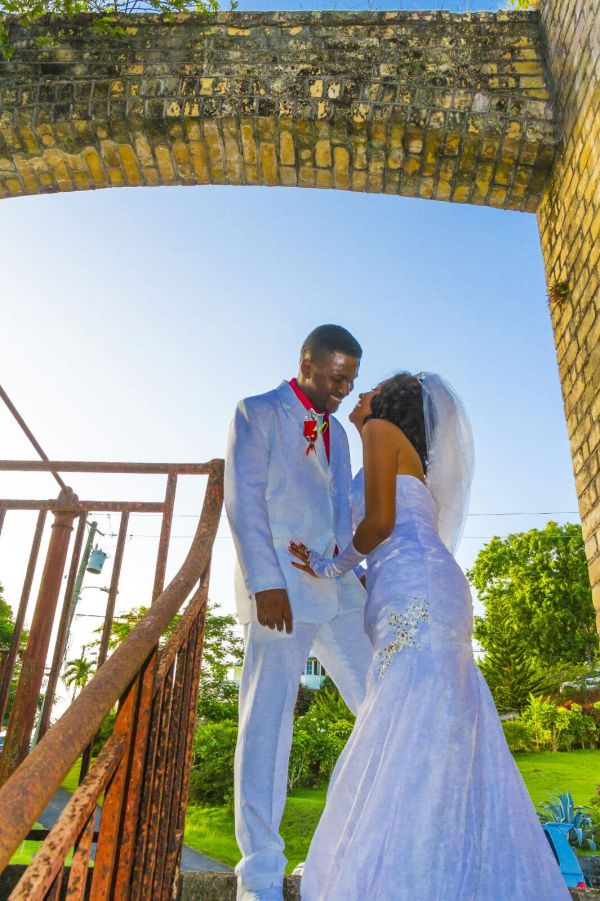 A wedding in St Lucia