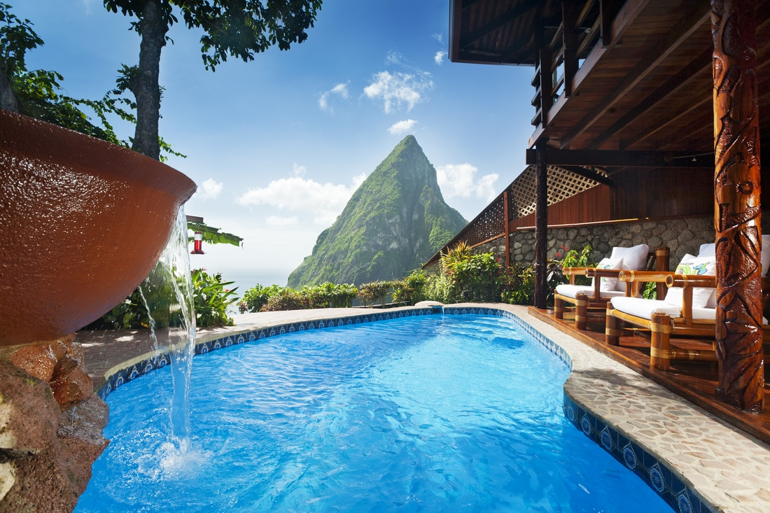 Ladera Resort in St Lucia- All Inclusive adults only Resort