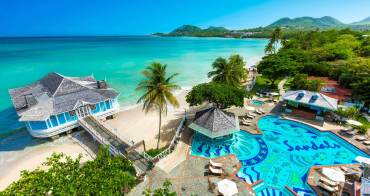 Sandals in St.Lucia