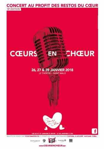 Concert Coeurs en choeur 2018